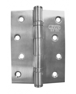 Butt Hinge 2BB 4x3x2mm SS