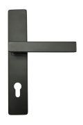 Black Entrance Handle 245mm x 45mm